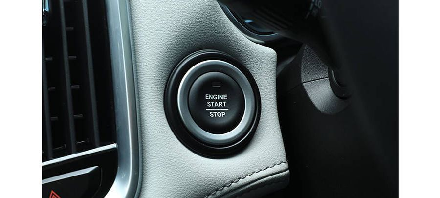 engine start stop button Wuling Almaz 2019