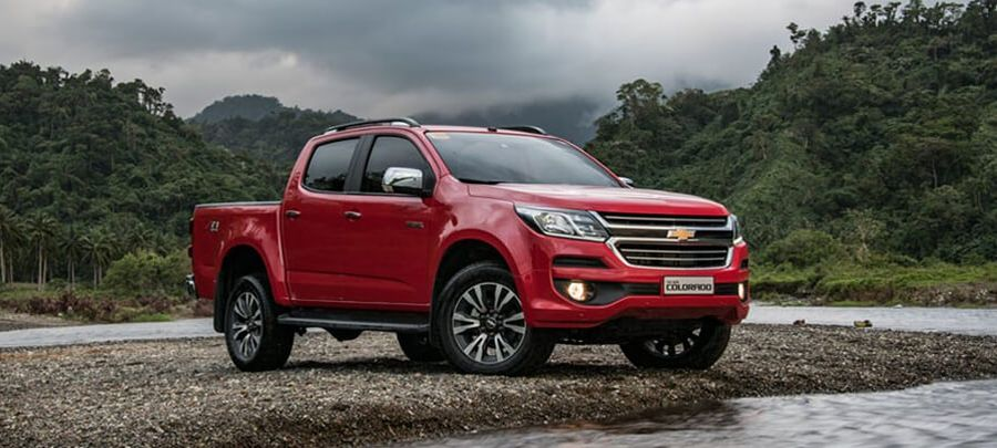 Tampilan depan Chevrolet Colorado