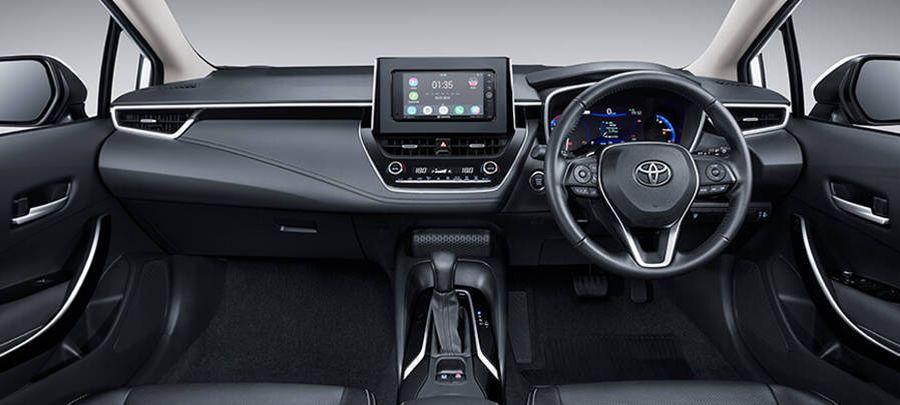Tampilan Dashboard matic Toyota All New Corolla Altis 2019 Carmudi Indonesia