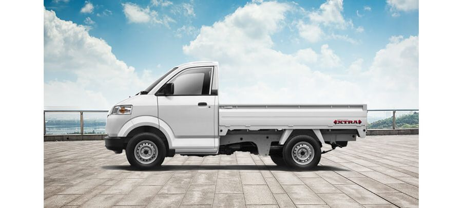 Tampak Samping Suzuki Mega Carry Pick Up