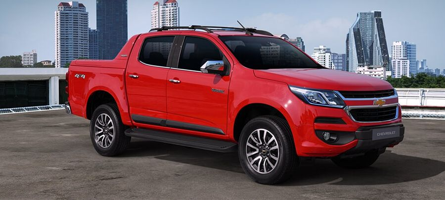 Tampilan Samping Chevrolet Colorado