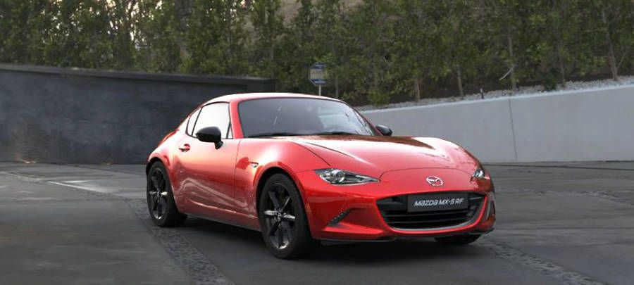 Mobil Mazda MX-5 baru di British International Motor Show