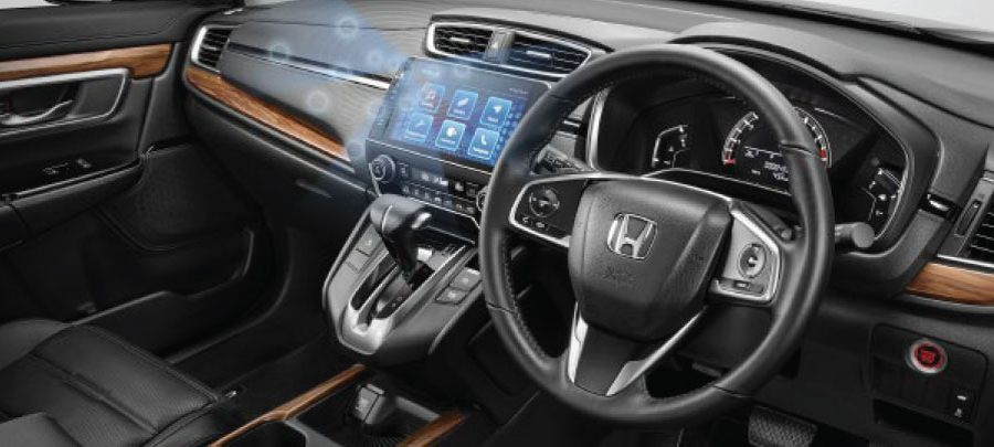 tampilan dashboard honda cr-v 2019 carmudi indonesia