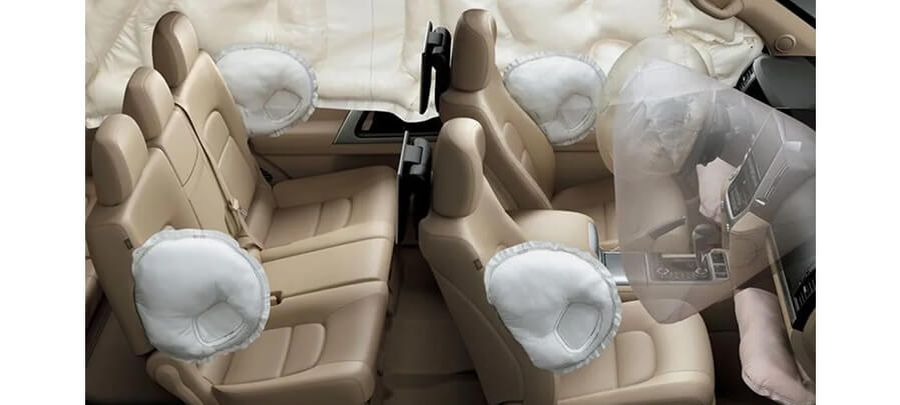 Airbags Land Cruiser